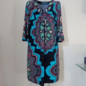 Aryeh medallion print dress